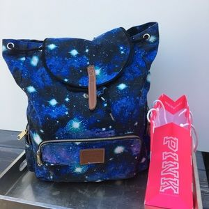 PINK by Victoria Secret blue backpack